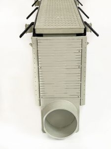 swiftdrain-kennel-drain-600-front
